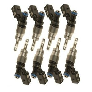 Fits: Audi A6 Q7 S5 / Volkswagen Touareg Set of 8 Fuel Injectors HITACHI FIJ0038