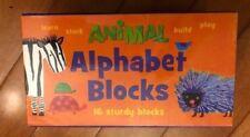 Peaceable Kingdom Alphabet Blocks (sturdy blocks) New