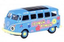 Schuco 26055 VW T1 SAMBA BUS FLOWER POWER  1:87