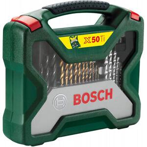 BOSCH X-LINE TITANIUM SET 50-TLG 2607019327 BOHRER- UND SCHRAUBER-SET NEUWARE