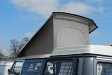 VW T2 Westfalia Roof Canvas-Front Hinging Heavy Duty 1968-1973 Grey C81783G