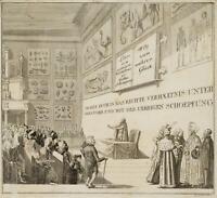 CHODOWIECKI (1726-1801). Vom richtigen Verhältnis; Druckgraphik 2