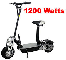 New Super Turbo 1200 watt Chrome Electric Scooter wholesales 34mph