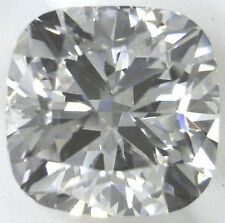 1.01 carat Cushion cut Diamond loose Gia cert. G color Vs1 clarity no fl. Ideal