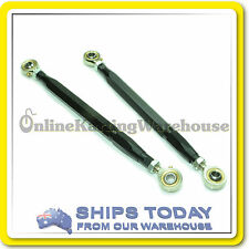 GO KART TIE ROD FULLY ADJUSTABLE Arrow Monaco SET x 2 KARTELLI PRO ROD ENDS !