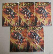 5x ACTION COMICS 1000 DC BOUTIQUE GOLD FOIL VARIANT Lee Bermejo Superman*