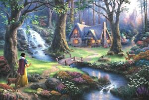 1000 Pcs Adult Kid Puzzle Fairytale Forest Cottage Jigsaw Educational Toys Gift