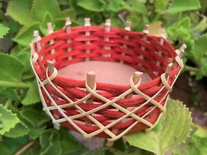 Rattan Caneware Bamboo Cane Craft Basket Handmade Hand Home Storage Decoration