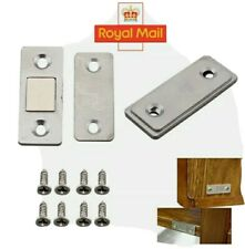 2-20 Pcs Strong Magnetic Catch Latch Cupboards, Caravan, Cabinet, Ultra Thin