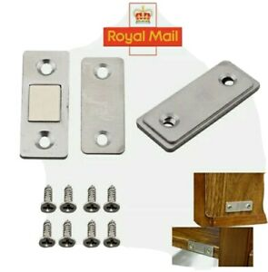 2-20 Pcs Strong Magnetic Catch Latch Ultra Thin For Door Cabinet Cupboard Closer