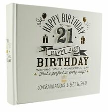 Happy Birthday 21st Signography Photo Album With Gift Box FL29921
