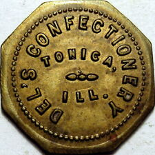 Tonica Illinois Good For Token Del's Confectionery Unlisted Merchant