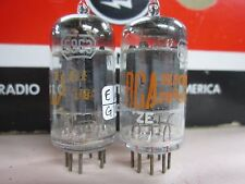 Rca Matching 5963 Vacuum Tubes 1959 Foil Getters Amplitrex Tested Both 113/109%