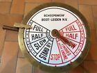 "Old Ship  Engine Telegraph ""Scheepswerf Boot-Leiden""  40 Lbs.Collectable piece."