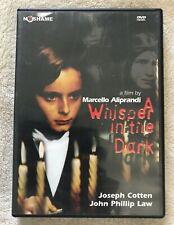 A WHISPER IN THE DARK DVD NoShame John Phillip Law Joseph Cotton Italo-Gothic