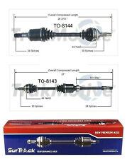 For Toyota Camry 3.0L V6 FWD 2 Front CV Axle Shafts SurTrack Set Std.Transm.
