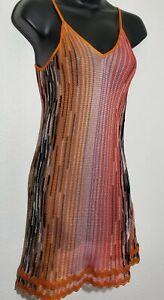 Missoni Mare Womens Multicolor Swim Cover Up Beachwear Short Dress Size 38 US XS