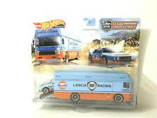New Listing2021 Hot Wheels Premium Car Culture Team Transport Lancia Rally 037 Euro Hauler