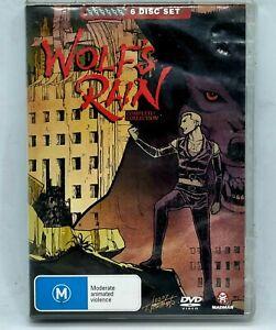 WOLF'S RAIN DVD Complete Collection 6 Disc Anime Madman Bones Toboe Cheza Free📮