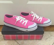 Tommy Hilfiger womens shoes / sneakers, Pink, Size 4 Tommy Hilfiger Footwear