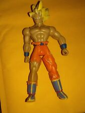Dragon Ball Z 2003 Jakks Super Saiyan Goku Battle Damaged Figure DBZ