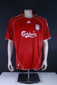 Liverpool FC Adidas Herren Fußball Trikot Saison 2007/08 Torres 9 Männer Jersey