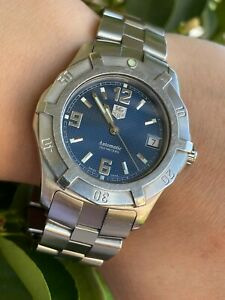 TAG HEUER WATCH WN2112 AUTOMATIC PROFESSIONAL 2000 DIVER MENS 37.5mm SWISS