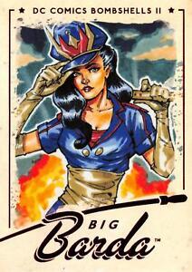BIG BARDA / DC Comics Bombshells II 2 (2018) BASE Trading Card #52