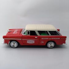 Coca-Cola '55 Bel Air Nomad Wagon with Extras (1:24 Scale) - BRAND NEW