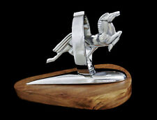Vintage 1951 1950 Harley Glide Horse Fender Ornament Mascot Knucklehead Panhead