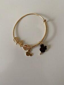 Alex and Ani Disney Mickey Bar Bracelet Gold