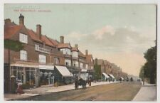 Early Postcard, Kent, Bromley, The Broadway, Old Shops, Coach @ Horses,