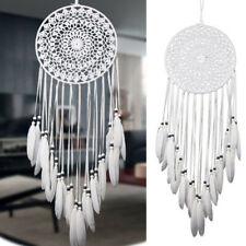 Large Handmade Knitted Dream Catcher Indian Dreamcatcher Home Bedroom Hanging UK