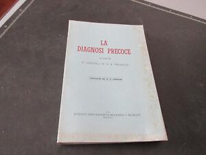 La Diagnóstico Precoz A Cura Ogilvie Y Thomson Bade Editorial 1949