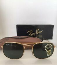 New Vintage RAY BAN BAUSCH & LOMB B&L GOLD ARISTA G15 NOS W/CASE 52 MM USA