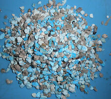 Crushed All Natural Kingman Turquoise Material 1 Pound for stone & wood inlay