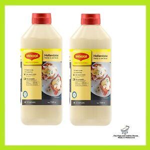 Maggi Hollandaise Sauce 1 Litre x 2 bottles