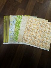 "12""x12""scrapbook Paper.mix7#. 50 Sheets Assorted Makes And Designs"