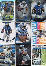 9-reggie bush all detroit lions card lot #2 nice mix