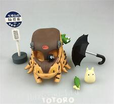 Studio Ghibli My Neighbor Totoro Cat Bus Resin Figure Model 7cm