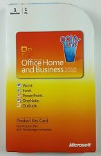 Office 2010 Home and Business versión completa box alemán PKC 32/64-bit t5d-00299