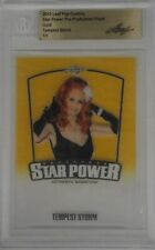 Tempest Storm 2015 Leaf Pop Century Star Power Pre Production Proof Gold 1/1