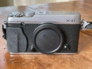 Fotocamera Digitale Mirrorless Fujifilm Xe1 X-E1 - solo corpo