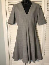 Stella Mccartney Size 40 (6) Grey Wool Dress