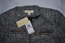 NWT Michael Kors Blazer w/Zipper Size 10 Free US Shipping