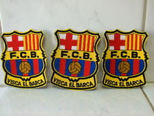 Aufnäher Aufbügler Patch FC Barcelona 3 Stück- 8,5 x 7 cm