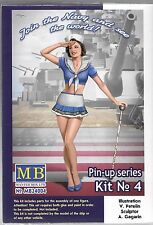 Master Box Pin Up Girl, Gal No. 4,  1/24, US Navy Suzie  004 ST