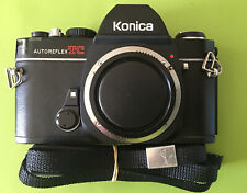 Working 1978 Konika Autoreflex TC Camera Body Branded Strap Original Box Manual
