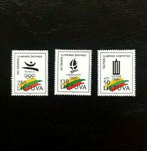 "Postage stamps ""Olympic Games"". Lithuania."