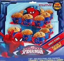 Ultimate Spiderman Cupcake Snack Stand Centerpiece Party Supplies